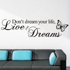 Shop Butterfly Quote Vinyl Wall Decal On Sale Overstock 21470100
