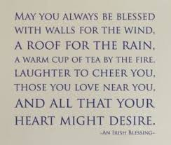 May You Always Be Blessed Version 1 Wall Decal
