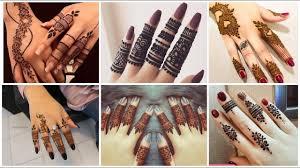mehndi designs finger back