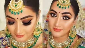 indian wedding makeup smokey eyes