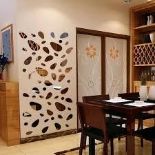 Vova 12pcs 3d Mirror Hexagon Vinyl Removable Wall Sticker Decal Home Decor Art Diy