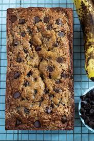chocolate chip banana bread two peas