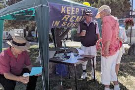 South Surrey man collecting signatures to keep RCMP – Surrey Now ...