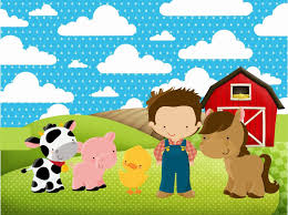 Free Printable Farm Party Invitations Aniversario Dos Animais