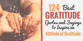 best gratitude quotes and sayings to inspire an attitude of