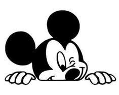 Disney Mickey Mouse Minnie Mouse Window Decal Vinyl Sticker Car Vehicle Mickey Mouse Mickey Disney Mickey