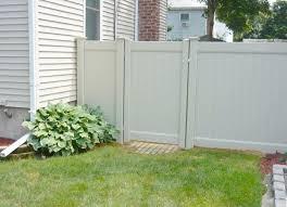 Vinyl Fence Fence Design Wooden Fence Front Yard