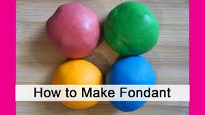 making homemade fondant in minutes