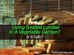 should pressure treated lumber be used