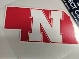Nebraska Huskers State Window Die Cut Decal Wincraft Sticker 8x8 Ncaa Sports City Hats