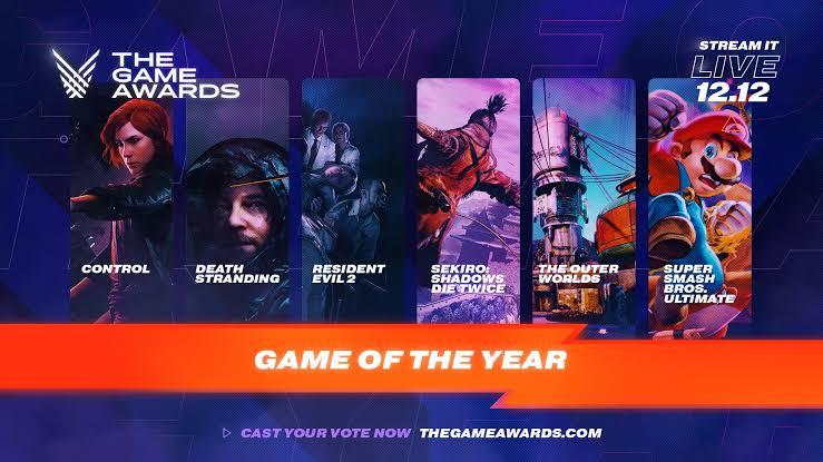 """Resultado de imagem para The Game Awards 2019"""""""