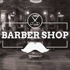 Barber Shop Decal Large Rectangle Traditional Barbers Window Etsy