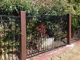 Image Result For Aluminium Fence With Timber Posts Metal Pool Pool Fence Timber Posts