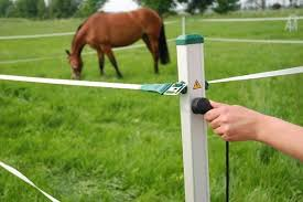 Portable Fence Horse Trail Riders See Roflexs A Mobile Portable Electric Horse Travel Corral Fencing Easy To Use Horse Camp Electric Fence Horse Trail