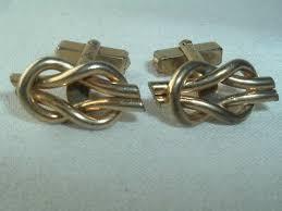 vine anson gold tone knotted cuff