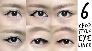 korean makeup tutorial eyeliner