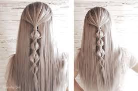 Fryzury Na Lato 30 Prostych Tutoriali Hair By Jul Fryzury
