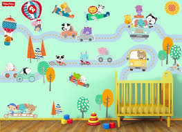 Fisher Price Traveling Animal Wall Decals
