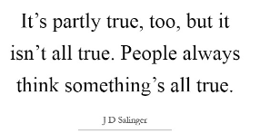 the catcher in the rye quotes book summary