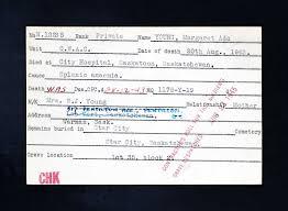Margaret Ada Young - The Canadian Virtual War Memorial - Veterans Affairs  Canada