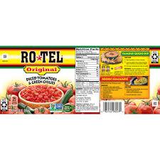 ro tel original diced tomatoes and