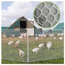 Amazon Com Xxn Plastic Chicken Wire Mesh Protect Soil Erosion Plant And Crop Protection Nets Animal Balcony Stairs Garden Fence Poultry Net Pvc Coated Hexagonal Silk Breeding Netting Pore Size 2 5cm 0 98in
