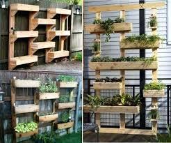 diy vertical vegetable garden wall
