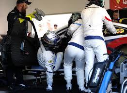 Zanardi's special steering wheel slows his drive at Daytona