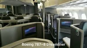 cabin tour boeing 787 8 dreamliner