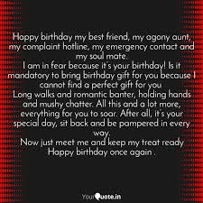 happy birthday my best fr quotes writings by faisal khan