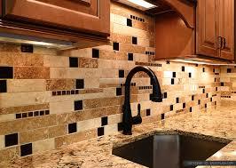 travertine backsplash tile backsplash