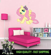 Home Garden Printed Wall Art Wall My Little Pony Fluttershy Graphic Sticker Decal Wall Decals Stickers