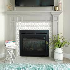 these tiled fireplaces are swoon worthy