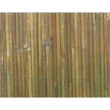 Eden 18 X 3m Bamboo Slat Fence Screening Bunnings Induced Info