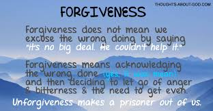 living in forgiveness devotional