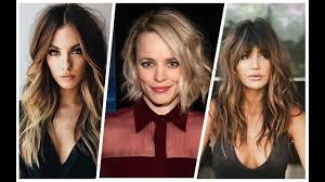 اجمل تسريحات للوجه الطويل والنحيف Coupes De Cheveux Pour Un Visage Long Youtube