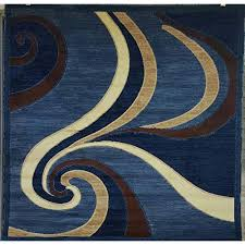 blue and brown area rugs com