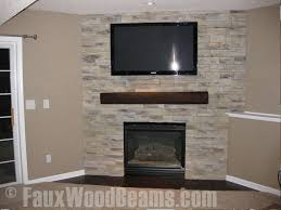 faux wood beam to use on wall as shelf