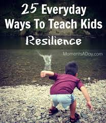 teaching resilience everday ideas for teaching kids resilience