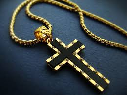 chain 18k gold nano injection plated