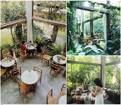 garden cafes to dine at in bangkok