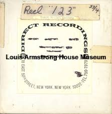 1987.3.0423 - [Reel-to-reel tape recorded by Louis Armstrong]