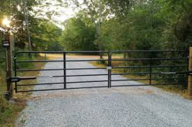 how to build a driveway gate home