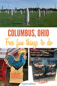 attractions in and around columbus ohio