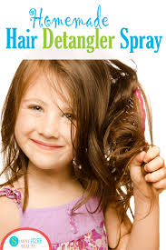 easy homemade detangler spray recipe