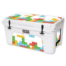Mightyskins Protective Vinyl Skin Decal For Yeti Tundra 65 Qt Cooler Wrap Cover Sticker Skins Tetris Walmart Com