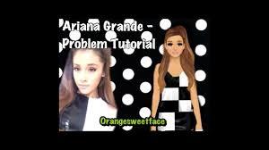 stardoll tutorial ariana grande makeup
