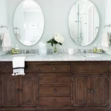 oval frameless bath vanity mirrors