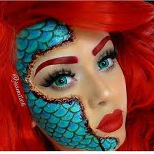 mermaid makeup inspiration