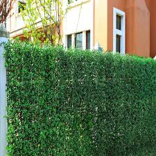 China Top Artificial Green Leaf Fence China Garden Fence And Artificial Plant Price